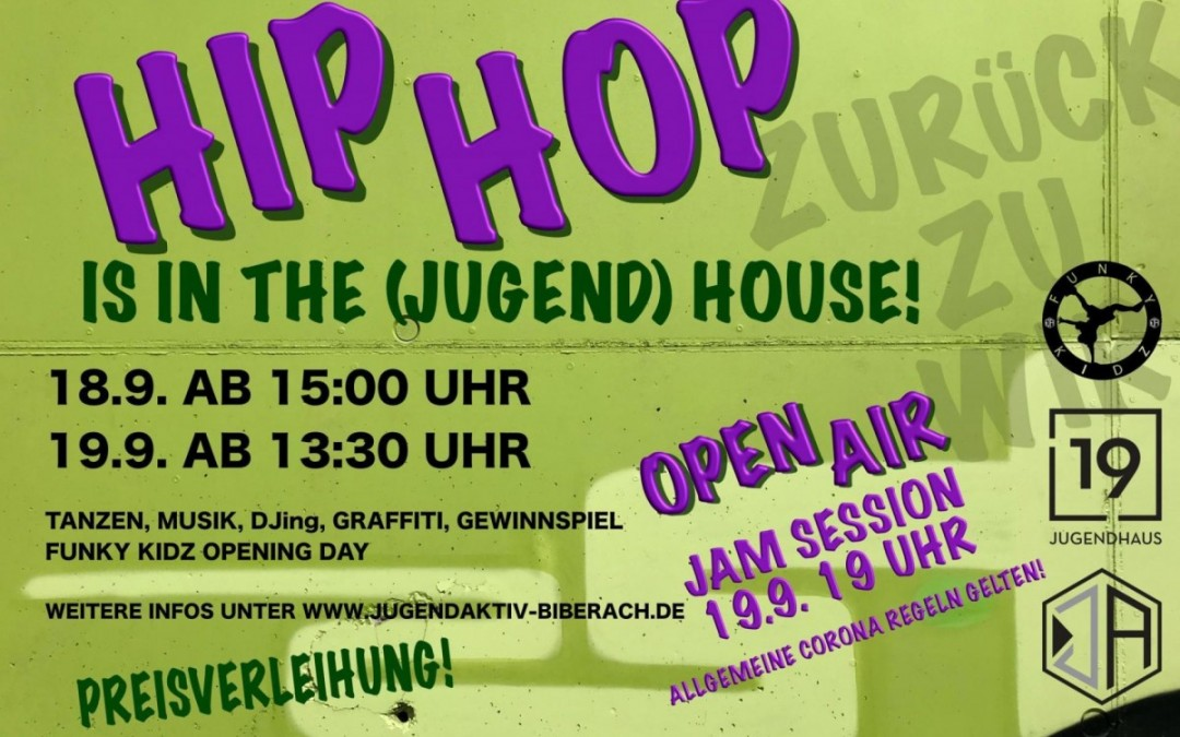 HipHop is in da (Jugend)Haus X Funky Kidz Opening Day 2020